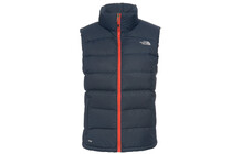 The North Face Nuptse 2  veste Femme orange/bleu
